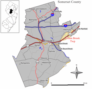 Green Brook Township, New Jersey Township in Somerset County, New Jersey, United States