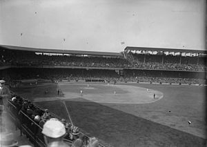 1925 World Series - Griffith Stadium during the series