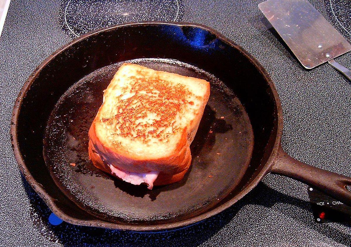 Grilled Ham & Cheese Baby !