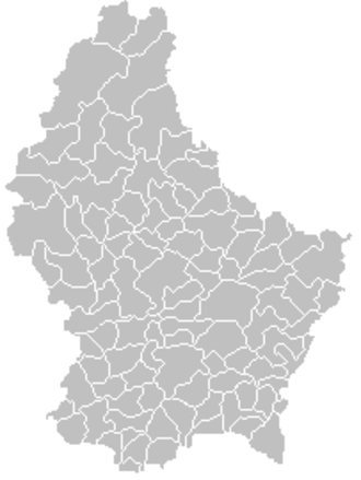 Communes of Luxembourg - The 102 communes of Luxembourg as of 2018.