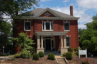 National Register of Historic Places listings in Cole County, Missouri - Image: Grove House, Jefferson City