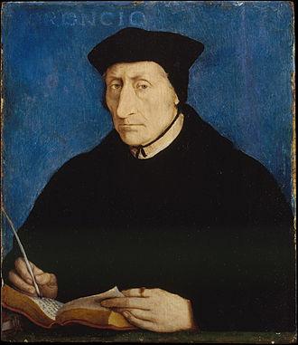 Guillaume Budé - Guillaume Budé, portrait by Jean Clouet