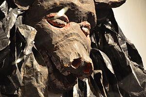 Nyau - A Gule Wamkulu mask depicting a wild animal.