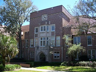 Norman Hall (Gainesville, Florida) - Image: Gville UF Norman 02