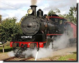 4-8-0 - QGR C17 class