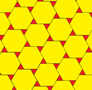 Truncated hexagonal tiling - Image: Gyrated truncated hexagonal tiling