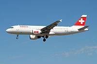 HB-IJN - A320 - Swiss