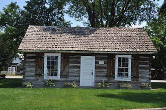 Plains, Montana - The old Wild Horse Plains Schoolhouse