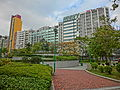 HK 觀塘 Kwun Tong 海濱道公園 Hoi Bun Road Park LCSD Dec-2013 view Wai Yip Street industrial buildings.JPG