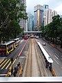 HK CWB 銅鑼灣 Causeway Bay 高士威道 Causeway Road footbridge view Sunday June 2019 SSG 03.jpg