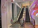 HK TST night Harbour City interior sign LCX shopping mall escalators Mar-2013.JPG