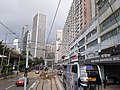 HK tram view Shek Tong Tsui to Sai Ying Pun Des Voeux Road West Sheung Wan Des Voeux Road Central September 2020 SS2 04.jpg
