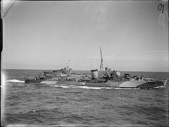 HMS Jupiter (F85) - Image: HMS Jupiter 1940 IWM A 238