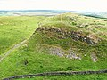 Hadrian's Wall and Path west of Alloa Lee (2) - geograph.org.uk - 1459855.jpg