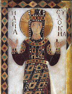 Aelia Eudocia Byzantine empress, wife of Theodosius II