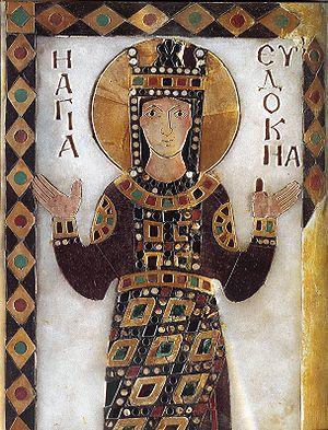 Eudocia, Emperatriz consorte de Teodosio II, Emperador de Oriente