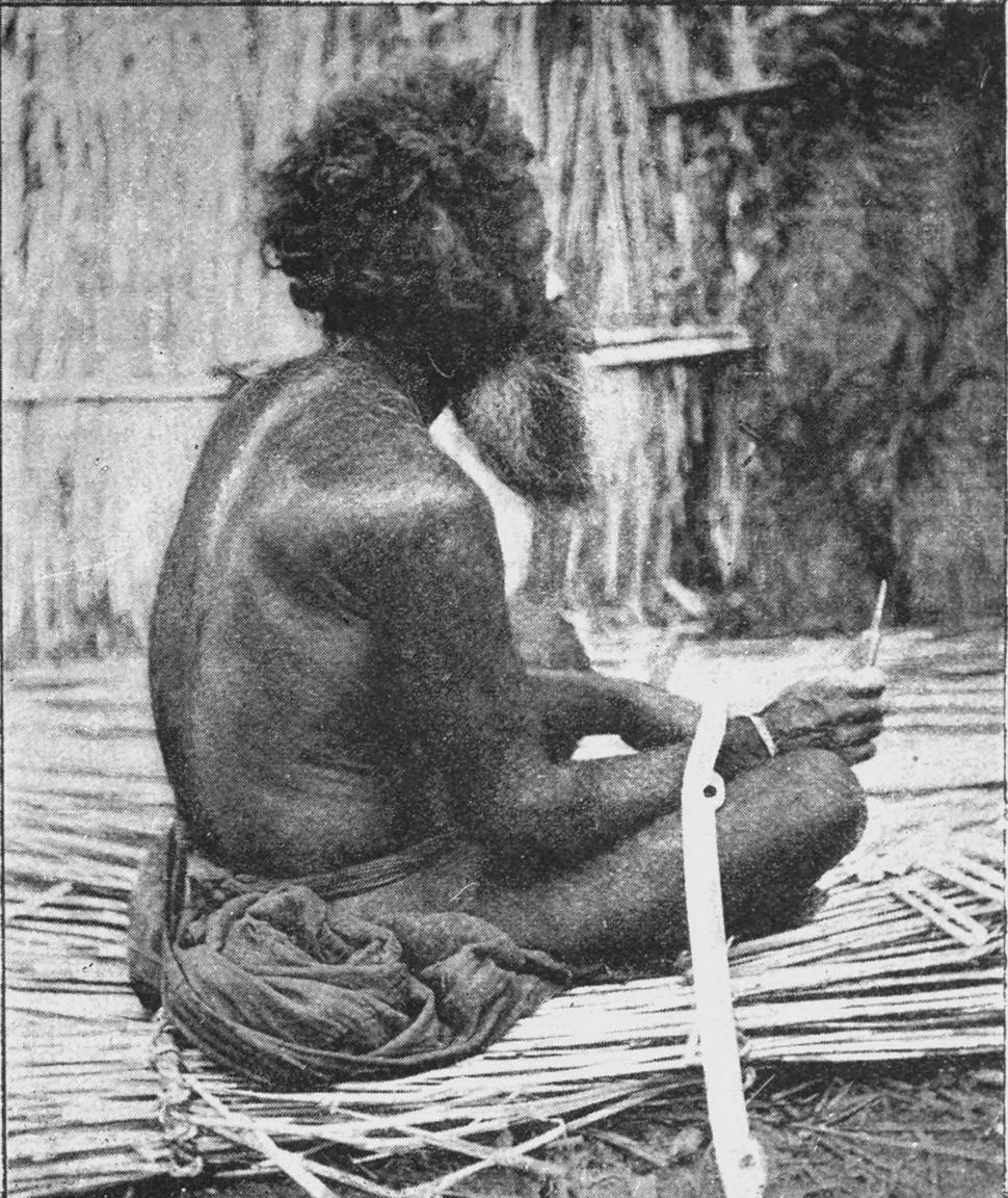Hairy Ainu man Mongoloid