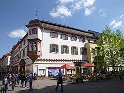 Theaterstraße in Heidelberg