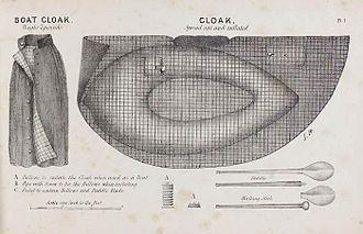 Halkett boat - Image: Halkett Boat Cloak