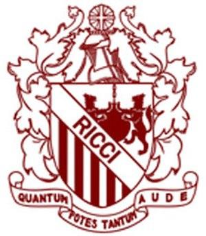 Ricci Hall - hall logo