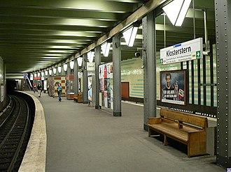 Hamburg U-Bahn - Image: Hamburg.U Klosterstern.wmt