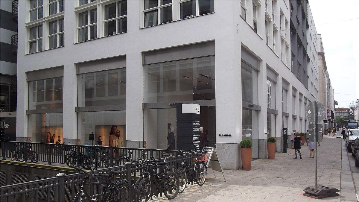 Jil sander wikipedia for Ligne roset hamburg neuer wall
