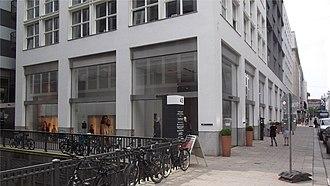 Jil Sander - Jil Sander fashion house in Hamburg