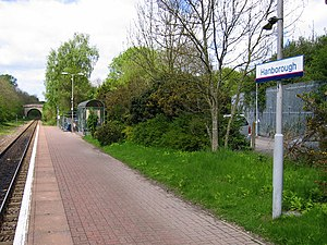 Hanborough railway station - Image: Hanborough Railway Station