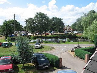 Hankelow village in the United Kingdom