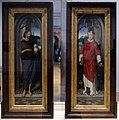 Hans memling, santi giovanni battista e lorenzo, 1480 ca. 01.jpg