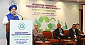 Hardeep Singh Puri delivering the inaugural address at the International Conference on Plastics Recycling & Waste Management Opportunities & Challenges, in New Delhi (1).JPG