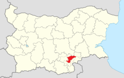 Harmanli Municipality Within Bulgaria.png