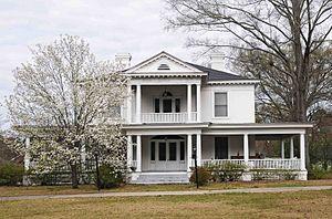 Harrington Street Historic District - William Mayes House, Harrington Street Historic District, March 2012