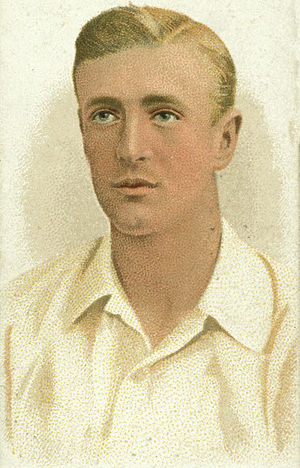 Harry Foster (cricketer) - Image: Harry Foster Cigarette Card