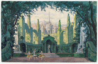 Alexandre Benois - Image: Harvard Theatre Collection MS Thr 414.4 (33)