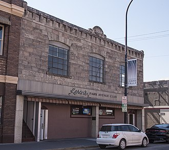 National Register of Historic Places listings in Bonneville County, Idaho - Image: Hasbrouck Building 1627