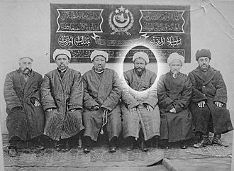 Sabit Damulla Abdulbaki - Prime Minister Sabit Damolla (in circle)
