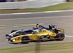 Heinz-Harald Frentzen and Ralph Firman 2003 Silverstone.jpg