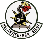 Helicopter Anti-Submarine Squadron 8 (US Navy) insignia, 1956.png