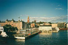 Helsinborg Port Sweden 1988.jpg