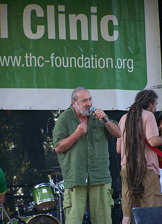 Jack Herer - Herer speaking at the 2009 Hempstalk Festival, moments before his second heart attack