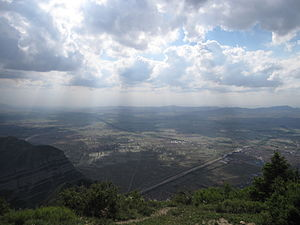 Mount Heng (Shanxi) - View from the summit of Heng Shan