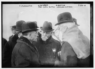Henry Morgenthau Sr. - Morgenthau, Samuel Train Dutton and Cleveland Hoadley Dodge in 1916