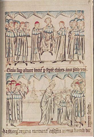 Coronation of the Holy Roman Emperor - Coronation of Henry VII, Holy Roman Emperor