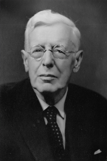 Black and white photograph of Herbert Maryon