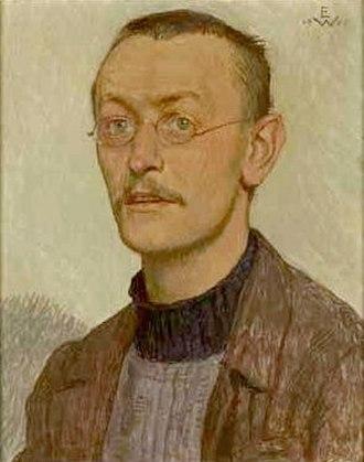 Hermann Hesse - 1905 portrait by Ernst Würtenberger (1868–1934)