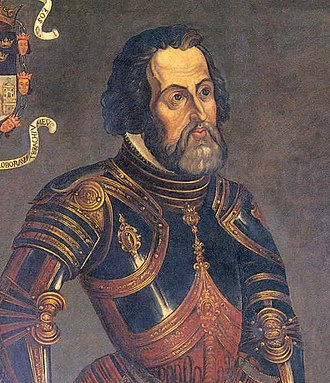 Potonchán - Hernán Cortés, Conqueror of Potonchán and founder of Santa María de la Victoria, first Spanish settlement in New Spain.