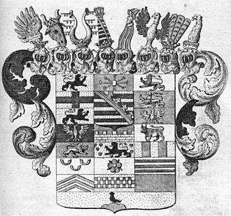 Coat of arms of Saxony - Image: Herzog Sachsen Merseburg