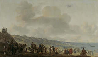 The Departure of Charles II (1630-1685) from Scheveningen, 2 June 1660