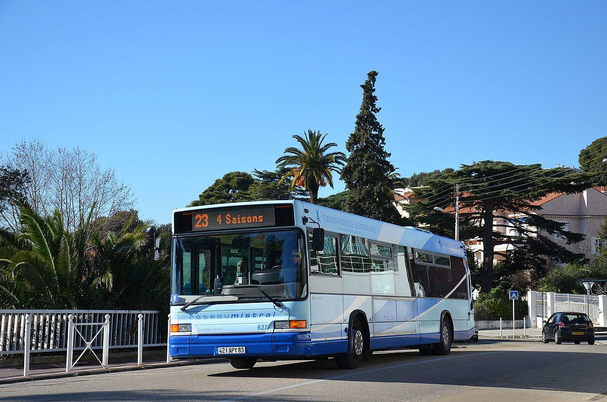 R gie mixte des transports toulonnais wikip dia for Transport en commun salon de provence